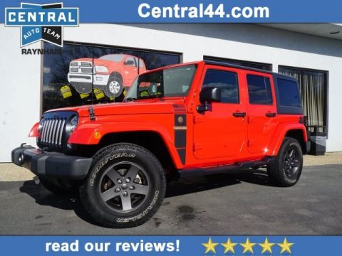 CERTIFIED PRE-OWNED 2016 JEEP WRANGLER UNLIMITED FREEDOM 4WD