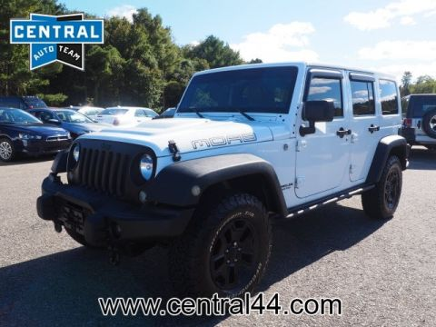 PRE-OWNED 2013 JEEP WRANGLER UNLIMITED MOAB 4WD