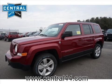 NEW 2016 JEEP PATRIOT LATITUDE 4X4
