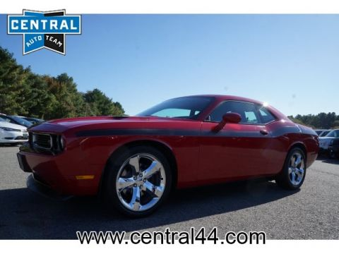 PRE-OWNED 2013 DODGE CHALLENGER R/T RWD R/T 2DR COUPE