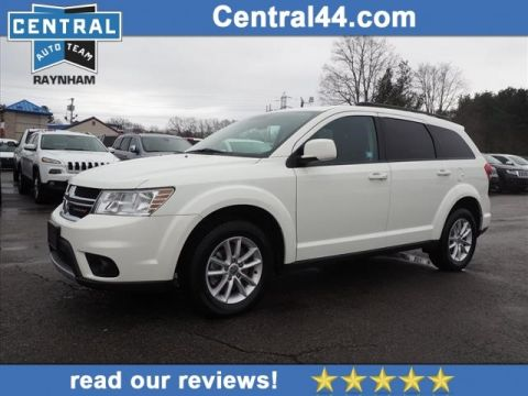 CERTIFIED PRE-OWNED 2017 DODGE JOURNEY SXT AWD