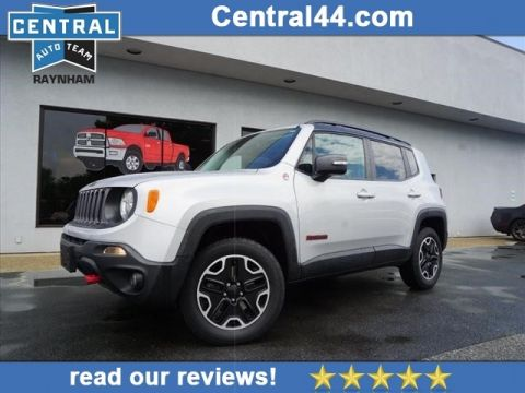 CERTIFIED PRE-OWNED 2016 JEEP RENEGADE TRAILHAWK 4WD