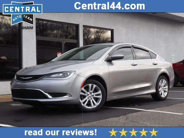Certified Pre-Owned 2016 Chrysler 200 Limited Platinum