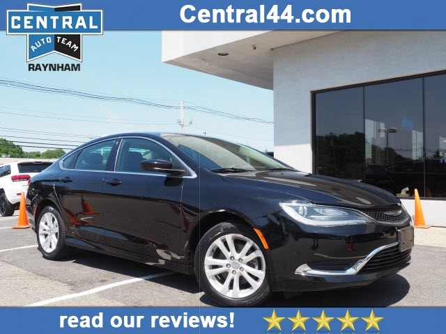 Chrysler 200 Limited >> Pre Owned 2016 Chrysler 200 Limited Limited 4dr Sedan In Raynham