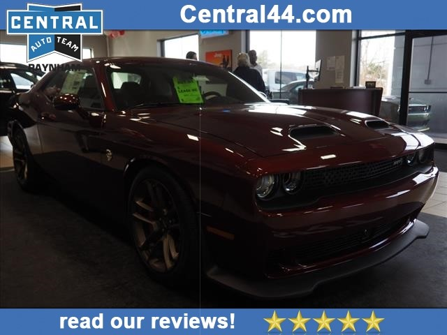 New 2019 Dodge Challenger Srt Hellcat Coupe In Raynham R19754