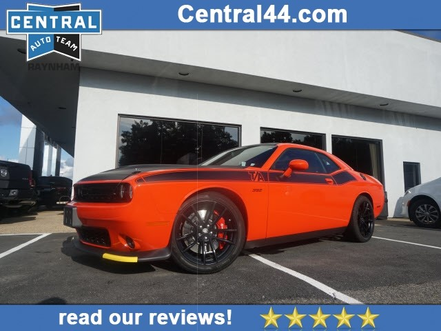 Certified Pre-Owned 2018 Dodge Challenger R/T 392