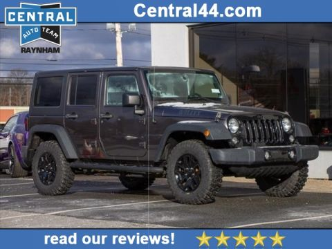 Pre-Owned 2014 Jeep Wrangler Unlimited Willys Wheeler Edition
