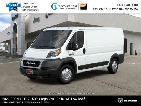 New 2020 Ram ProMaster 136 WB Low Roof Cargo