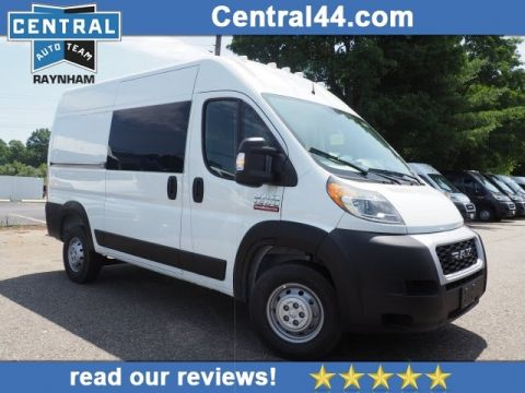 New 2019 Ram ProMaster 136 WB High Roof Cargo