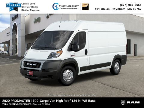 New 2020 Ram ProMaster 136 WB High Roof Cargo
