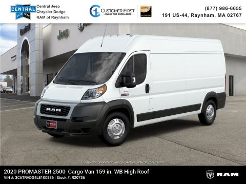 New 2020 Ram ProMaster 159 WB High Roof Cargo