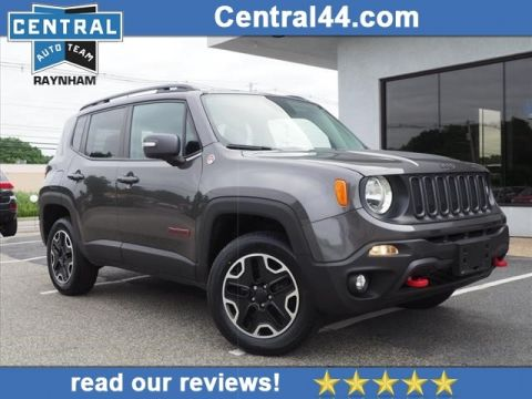 Pre-Owned 2016 Jeep Renegade Trail Hawk