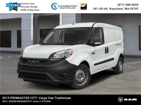 New 2019 Ram ProMaster City